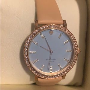 Kate Spade nude and Rose gold watch